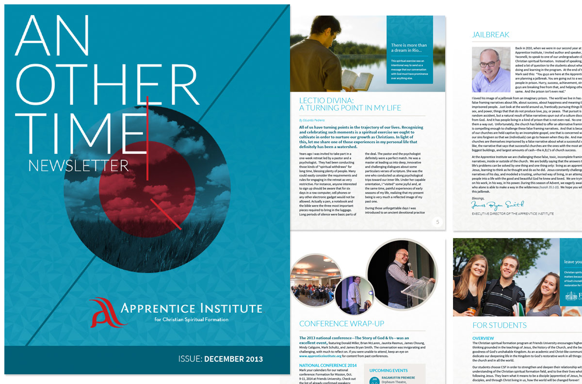 Apprentice Institute Newsletter