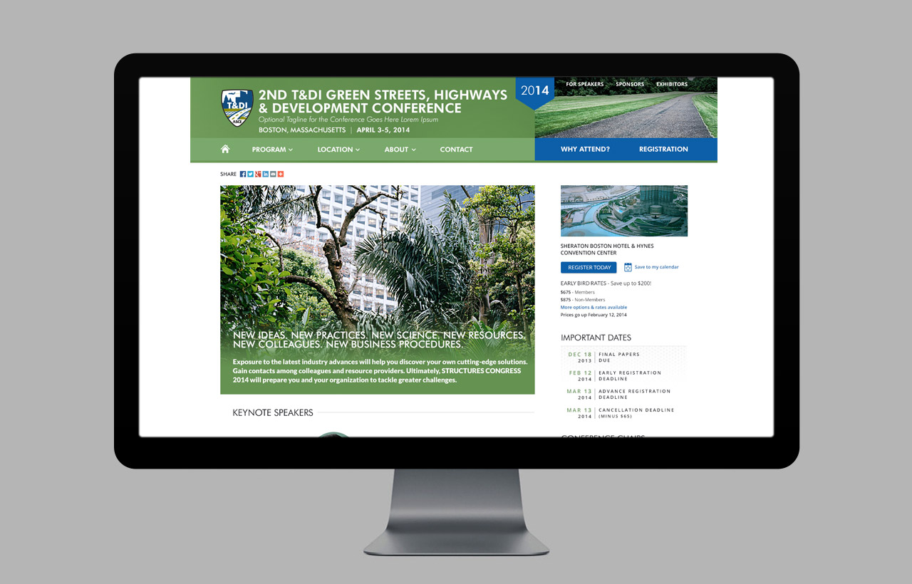 ASCE Conference Template Designs