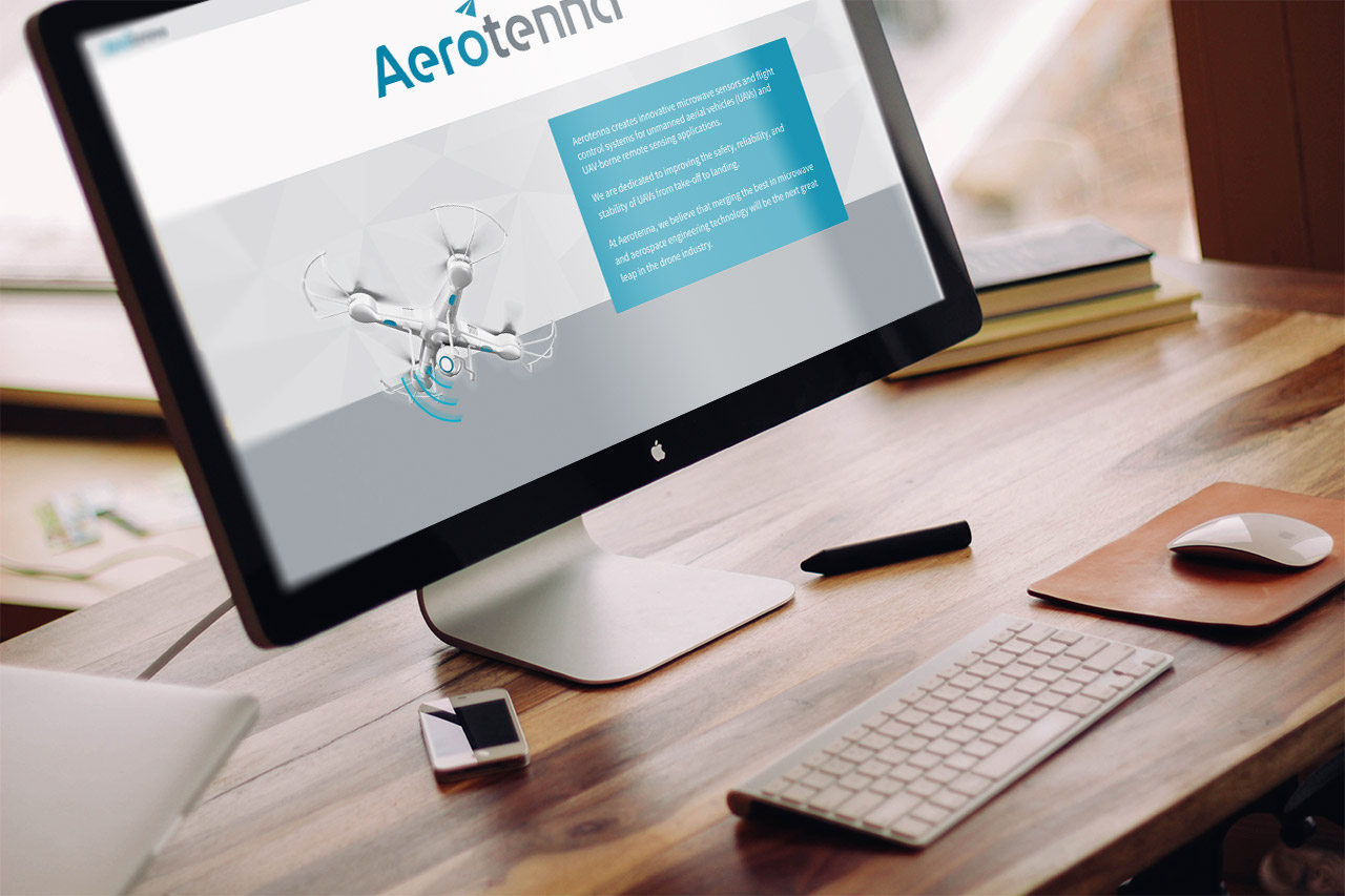 aerotenna web design